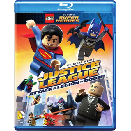 Lego DC Super Heroes: Justice League Attack of the Legion of Doom! (Justice League Of America Vol 4 1)