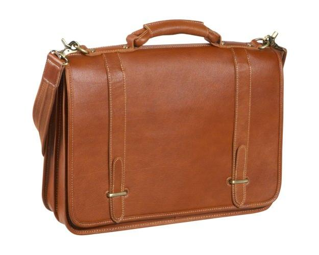 Amerileather Traditional Double Slip-in Executive Briefcase by AmeriLeather