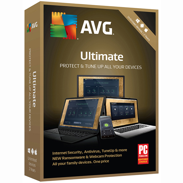 AVG Ultimate 2018, Unlimited, 2 Year