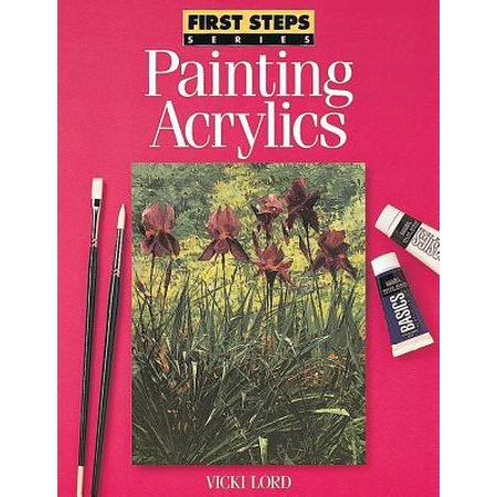 North Light Books First Steps: Painting Acrylic - Halloween Face Painting Step By Step