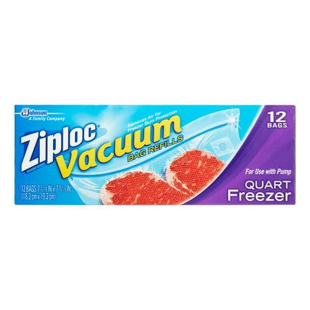 025700700562 Upc Ziploc Vacuum Freezer Bag Refills