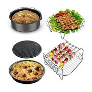Accessories Set of 8 Fit all 3.7-5.8Qt Air Fryer for all philps Cozyna Gowise and Power Air Fryers