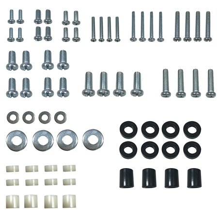 Universal Mount Kit (Husky Mounts Universal VESA TV Mount Hardware Kit with M8 M6 M5 M4 Screws, Washers and Spacers Variety - Fits most TV brands and sizes including curved TVS for most TV Mount Brackets)