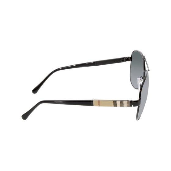 100fa2f24de Burberry - Burberry Men s BE3080-100187-59 Black Aviator Sunglasses ...
