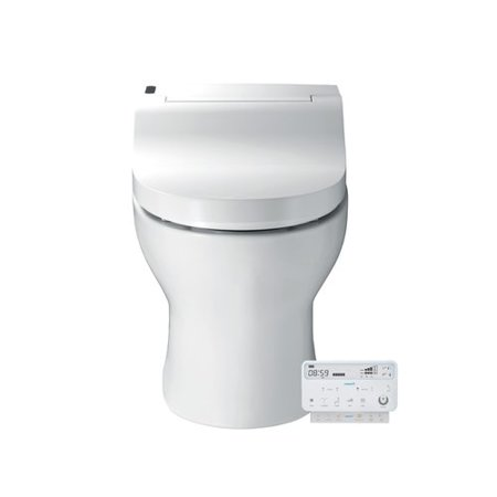 Bio Bidet Luxury Integrated Toilet Seat 40'' Floor Mount (Mounted Bidet)