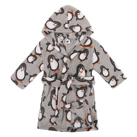 90355db5bb8 Zoomie Kids - Zoomie Kids North Brookfield Children Hooded Printed Fleece  Bathrobe - Walmart.com