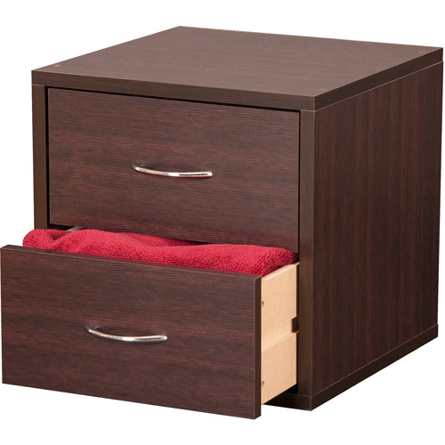 Foremost Groups 2-Drawer Cube Dresser