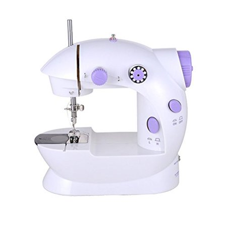 Cworlds NS40 Mini 40Speed Sewing Machine with Foot Pedal sewing Awesome Mini Sewing Machine Walmart