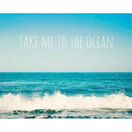 Art In Motion PDX573TUC1067SMALL Take Me To The Ocean Poster Print by Susannah Tucker Photography, 8 x 10 - Small - image 1 de 1