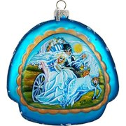 G Debrekht Holiday The Love For Life Rainbow Glass Ornament