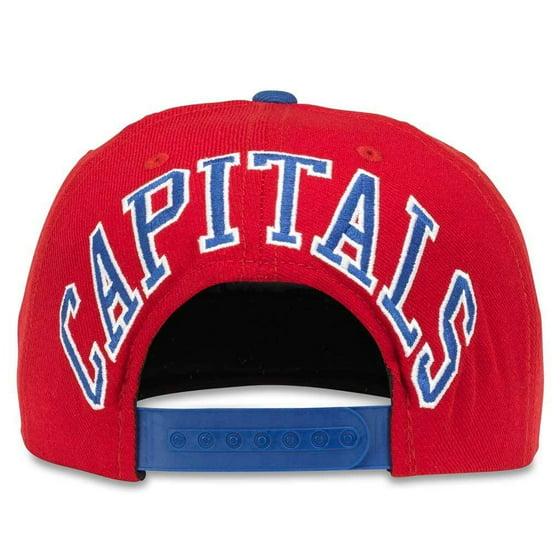 f6700620 American Needle NHL Blockhead Adjustable Snapback Hat (Washington Capitals)  - Walmart.com