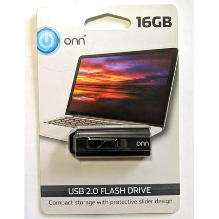 Onn 16gb 2.0 Usb Flash Drive