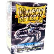 Card Supplies Dragon Shield Clear Card Sleeves [100 ct]