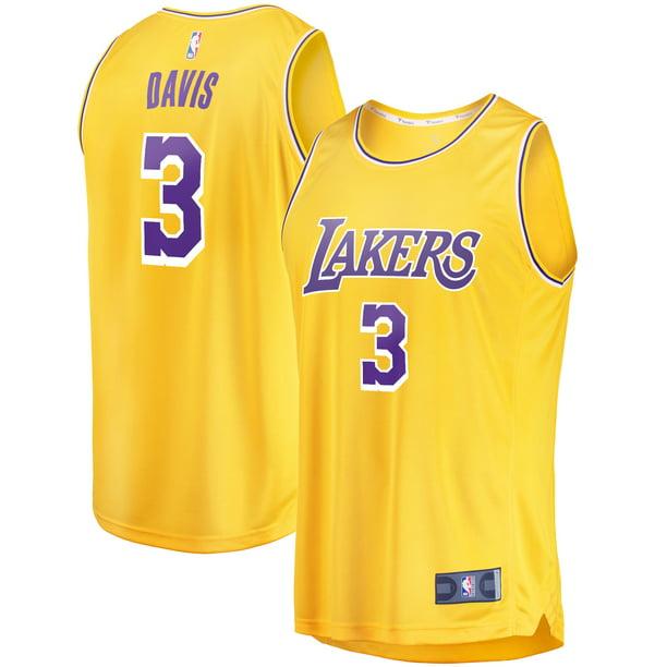 Anthony Davis Los Angeles Lakers Fanatics Branded Youth 2019/20 ...