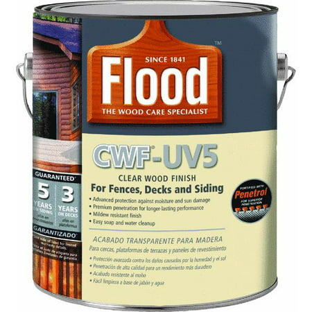 Flood CWF - UV5 Pro Series Wood Finish Exterior Stain