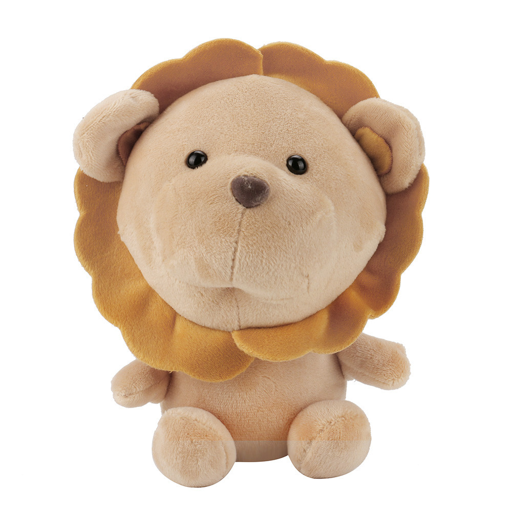 DZT1968 Stuffed Toy Soft Baby Doll Lovely Plush Doll Cute Sunflower Lion Toy Baby