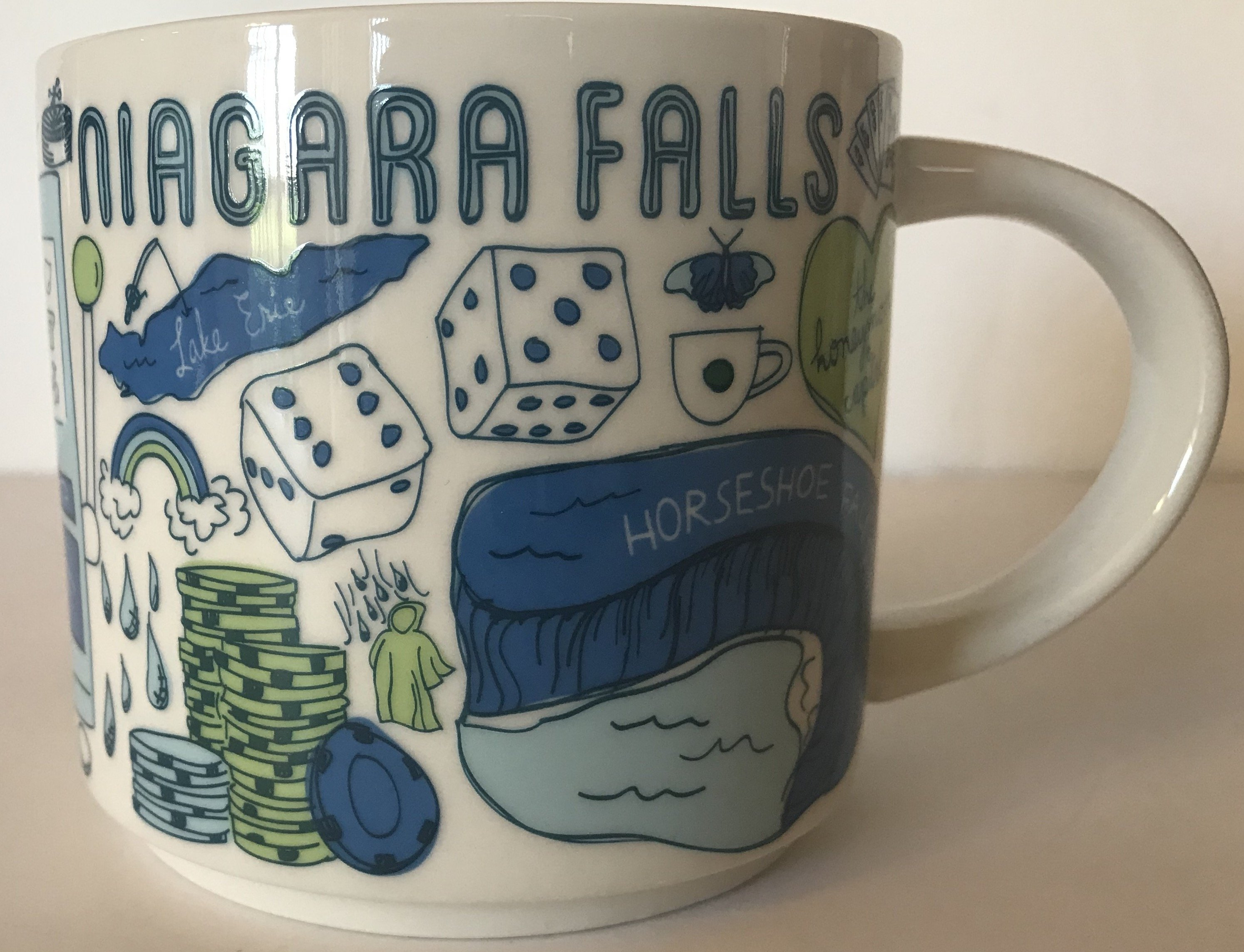 Coffee Niagara Been There Mug Starbucks New With Series Collection Box Falls N8OPX0wZnk