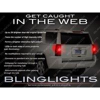 Chevy Suburban White Spider Tail Lamp LED Light Bulbs Chevrolet Pair