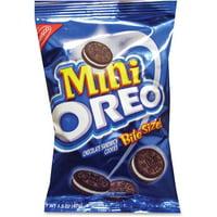 Oreo, NFG0001, Nabisco Mini Bite Size Cookie Packet, 60 / Carton