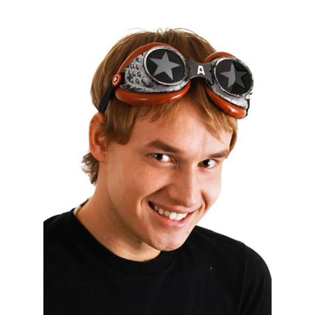 Captain America Radioactive Costume Goggles Adult One Size - Radioactive Costume
