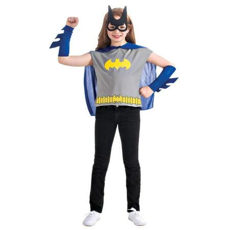 Batgirl Costume Set Child One Size](Batgirl Costumes Kids)
