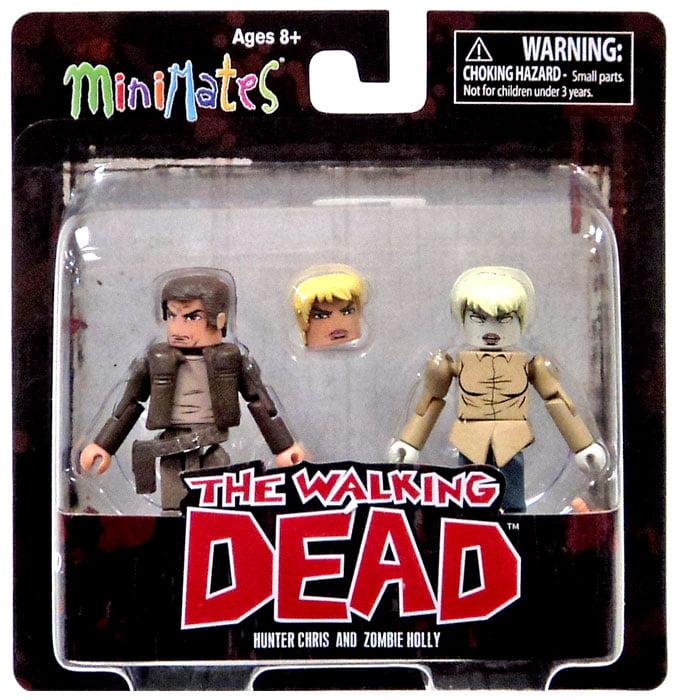 Hunter Chris & Zombie Holly Minifigure 2-Pack Minimates Series 7