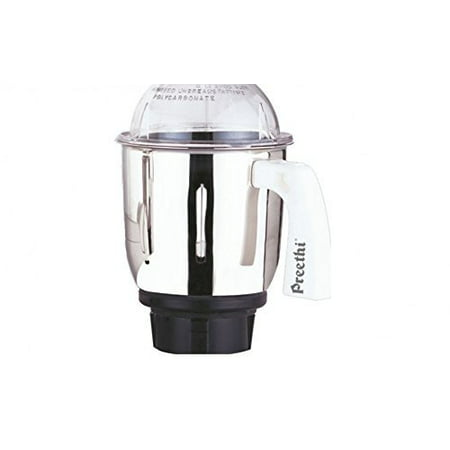 Preethi MG509 Medium Mixer Jar for Eco Twin, Eco Plus/Chef Pro and Blue Leaf, 1-Liter,