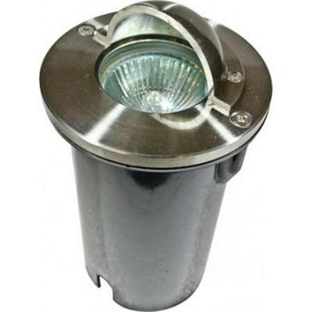 Dabmar Lighting LV625-LED3-SS304 3W & 12V LED MR16 304 Stainless Steel Half Moon Step Light - image 1 of 1