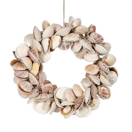 Scallop Shells Wreath 10
