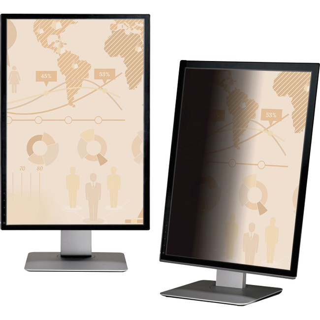 "3M PF215W9P Privacy Filter for 21.5"" Widescreen 16:9 Unframed for LCD Portrait"