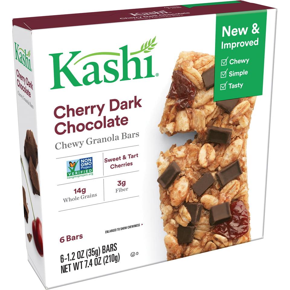 Kashi Cherry Dark Chocolate Chewy Granola Bars, 1.2 oz, 6 count
