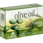 Grisi Natural Olive Oil Soap, 3.5 oz (Pack of 6)