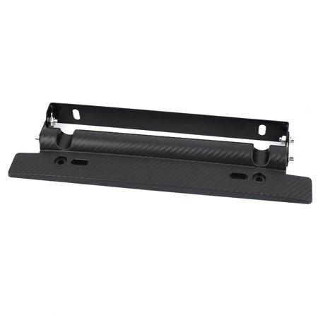 Black Adjustable Number License Plate Mount Car Bracket Frame Holder ...