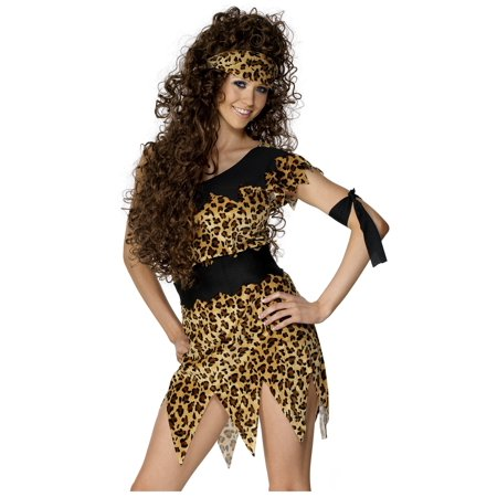 Halloween Cavewoman (Wild Cavewoman Costume)