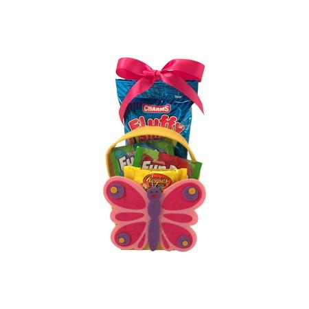 Easter Felt Butterfly Character Easter (Butterfly Meadow Basket)
