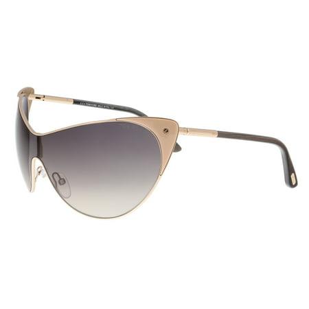Tom Ford Ft0364 74B Vanda Rose Gold Cateye Sunglasses