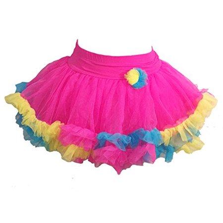 Jona Michelle Baby Girls Bright Pink Pastel Tutu (2T/3T)](Michelle Blake Halloween)