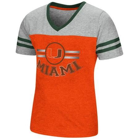 University of Miami Hurricanes Youth Girls Short Sleeve Pee Wee Tee ()
