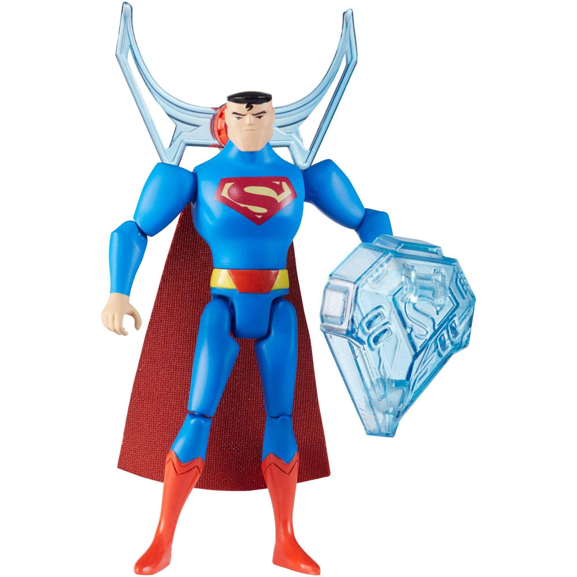 "DC Justice League Wonder Woman Power Connects 4.5/"" Action Figure Shooter"