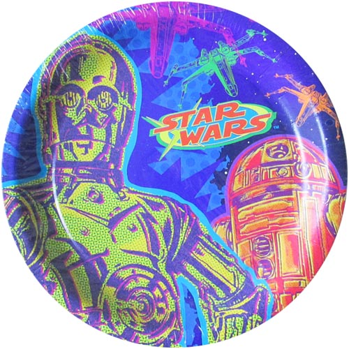 Star Wars 'Extreme' Large Paper Plates (8ct)