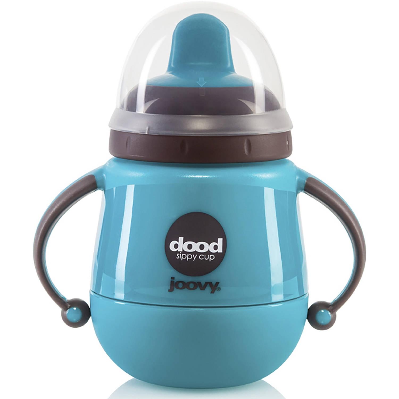 Joovy Dood Training Cup, 7oz 220ml with Insulator, Turquoise by Joovy