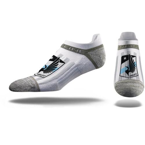 Minnesota United FC Premium Low Cut Socks - White - M/L