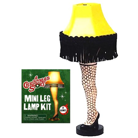 A Christmas Story Lamp.Leg Lamp Kit A Christmas Story Deluxe Mega Kit Miniature Editions 3