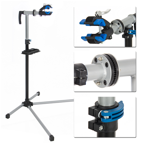 """Pro Bike Adjustable 41/"""" To 60/"""" Repair Stand w// Telescopic Arm Cycle Bicycle Rack"""