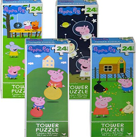 Peppa Pig Tower Puzzle 24 - Jigsaw Pig