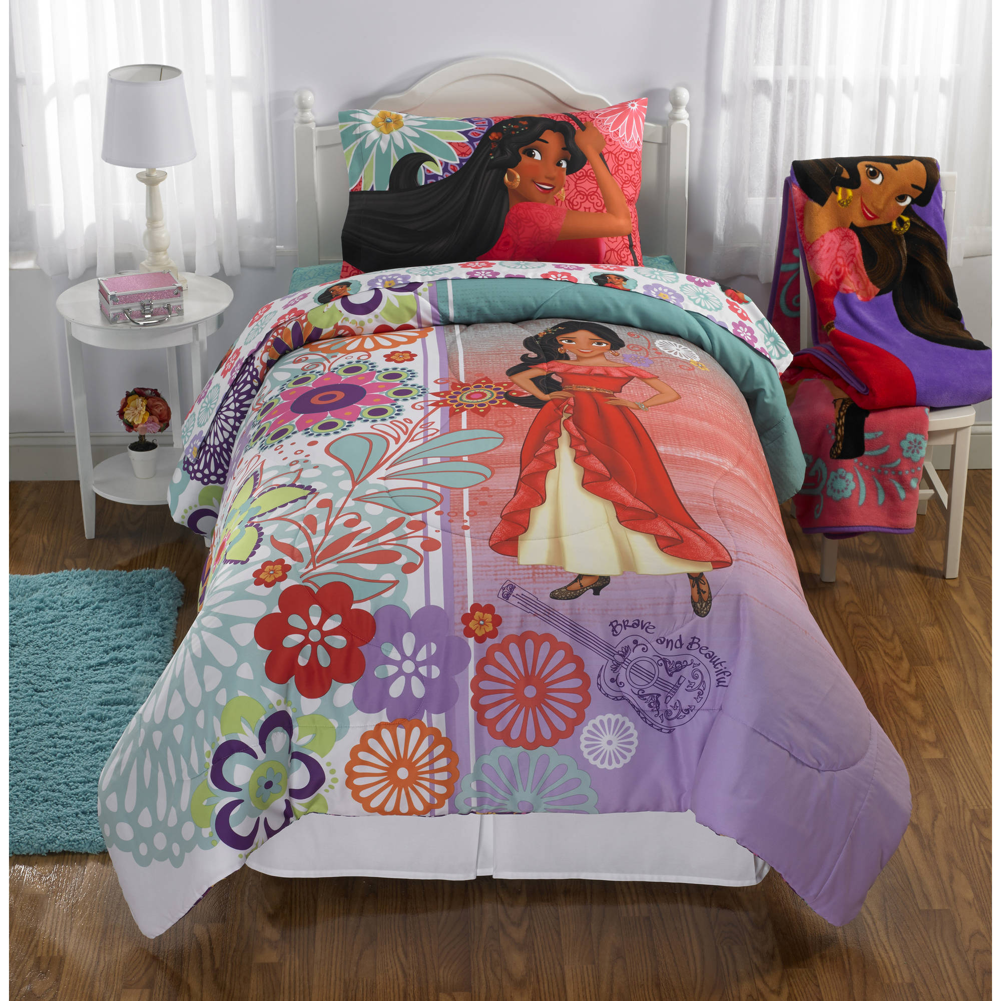Elena Of Avalor 'Let Your Hear Sing' Reversible Twin/Full Bedding Comforter