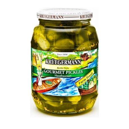 (Kruegermann's Best Gourmet Pickles Hausfrauenart Style (32 floz))