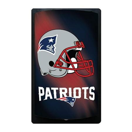 New England Patriots MotiGlow Fleece New England Patriots Blanket