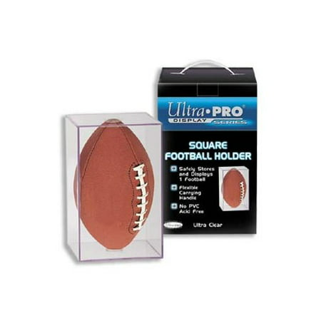 - Ultra Pro Square Football Display Case