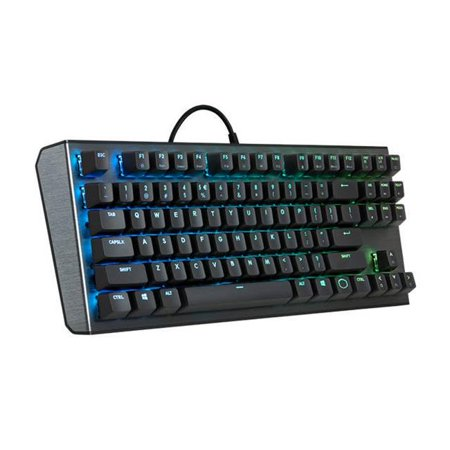 Cooler Master CK-530-GKGR1-US USB Wired Keyboard with Red Switch,